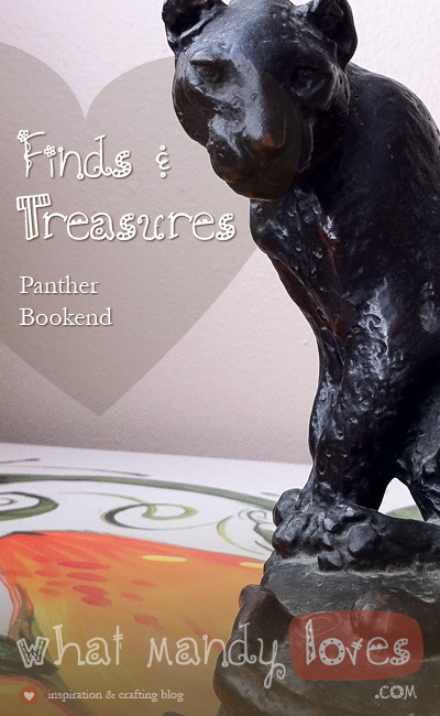 Panther Bookend