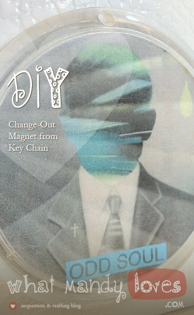 Change-Out Magnet From Keychain