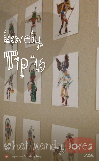 Turn Postcard Collection Into Wall Art