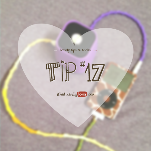 Lovely Tip #17: Wrap your chords for decoration and protection via www.whatmandyloves.com