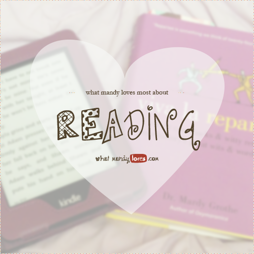 What Mandy Loves About Reading
